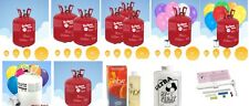 Helium Gas Canisters balloons,kits,saver,balloons, valved, hi float