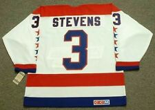 SCOTT STEVENS Washington Capitals 1988 CCM Vintage Home NHL Hockey Jersey
