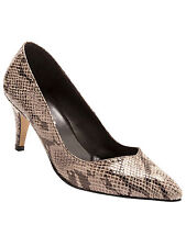 Balsamik High-Heeled Court Shoes Brown medium all over printed women