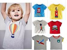Mini Boden boys /baby cotton long sleeve applique top t-shirt 0 months - 3 years