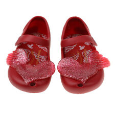 New Summer Children Kids Girl Toddler Shoe Heart Flat Sandals Jelly Shoes Gift