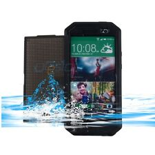 Waterproof Water Dirt Snow Dust Proof Kickstand Case Cover For HTC One M8