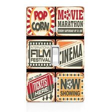 Light Switch Plate Cover Cinema Movie Ticket Wall Plate Vintage Sign