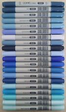 New! Copic CIAO Dual Tip Markers (Blue Colors) FAST Shipping from USA!