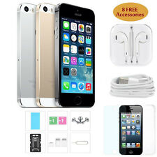 "Apple iPhone 5 5S- 16GB 32GB Unlocked Smartphone 4G LTE Dual Core 4.0"" 8MP I6N6"