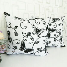 2 Bed Sofa Square Pillowcase Throw Pillow Case Car Back Cushion Cover Protector