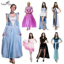 Halloween Party Cinderella Snow White Princess Fancy Dress Adult Outfit Costume