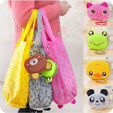 Eco Storage Handbag Cotton Cute Foldable Shopping Tote Reusable Bags Convenience
