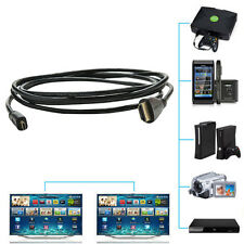 Micro HDMI to HDMI Male Adapter Converter Cable for Droid EVO HTC 4G 1080P
