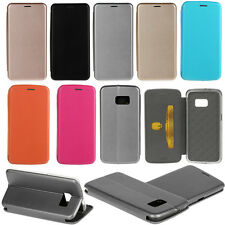 Magnetic PU Leather Flip Card Holder Stand Ultrathin Case For Various Phone