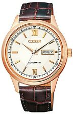 Citizen Sapphire Automatic WR 50m Gents Elegant Watch NY4053-05A