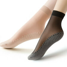 Womens Ladies Cotton Socks Causal Lace Summer Non Slip Ankle Sheer Sexy Socks