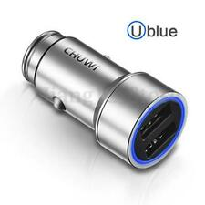 CHUWI Smart LED 5V/2.4A Dual USB Fast Charge Car Charger Power Adapter For Phone