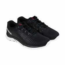 Reebok Reebok Zstrike Elite Mens Black Nylon Athletic Training Shoes