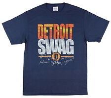 Licensed MLB Players Choice Detroit Swag Home Of The Tigers Signature T-Shirt