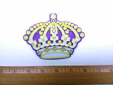 "Los Angeles Kings ""Jersey Crown"" 3D Hockey Logo - Emblem, Ornament or Magnet!!"