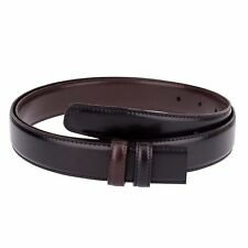 Black Leather Belt strap REVERSIBLE Brown Mens belts buckles 29 mm by Capo Pelle