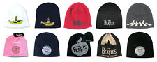 The Beatles Beanie Hat Cap Yellow Submarine Vintage Logo New Official