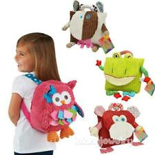 Cute Baby Toddler Kids Child Cartoon Animal Backpack Schoolbag Shoulder Bag LJ