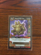 World of Warcraft TCG: Unscratched Magical Ogre Idol Card