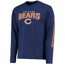 Chicago Bears Pro Line Red Zone Long Sleeve T-Shirt - Navy - NFL