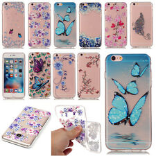 Clear Ultrathin New Pattern Soft Silicone TPU Rubber Gel Back Case For Phones