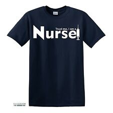 T208 TRUST ME I AM A NURSE FUNNY PRINTED MENS FUNNY TSHIRT NOVELTY GIFT IDEA
