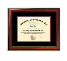 Graduation Diploma Frame College University Document Framing Plaque Gift