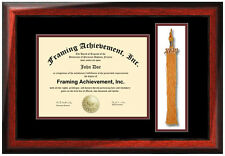 College Graduation Tassel Frame University Degree Holder Certificate Framing