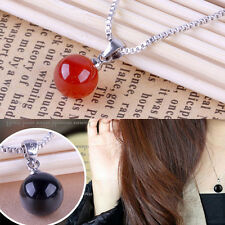 Chic Plated Silver Necklace Silver Jewelry Pendant Natural Agate Pendant top