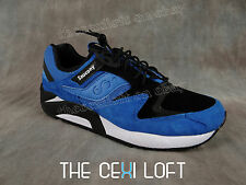 Mens SAUCONY Shoes Sneakers GRID 9000 Blue with Black & White Accents S70196-1