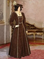 Renaissance Dress Victorian Gown Style Noble Costume Handmade Clothing Medieval