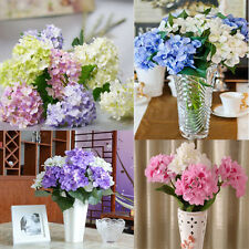 Artificial Bouquet Silk Flowers Leaf Wedding Bridal Party Home Decor topsale