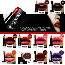 New Long Lasting Waterproof Women Charm Hot Red Matte Lipstick Lip Gloss Beauty