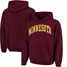 Minnesota Golden Gophers Basic Arch Pullover Hoodie - Maroon - College