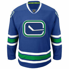 Vancouver Canucks Reebok Premier Alternate Jersey - Blue - NHL