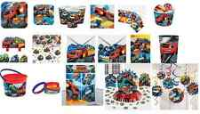 Blaze and the Monster Machines Party Tableware Plates Cups Napkins Tablecovers