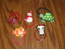 NWOT Gymboree ponytail holders and unbranded ponytail holders - really cute