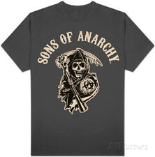 Sons of Anarchy - Logo T-Shirt Grey Shirt Tee New