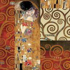 Deco Collage Detail (from The Kiss) Giclee Print by Klimt, Gustav