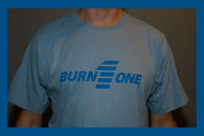 Burn One New Unisex organic cotton T- Shirt by Anvil