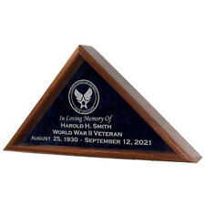 US Air Force Flag Display Cases Hand Made By Veterans