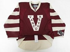 VANCOUVER CANUCKS MILLIONAIRES AUTHENTIC NHL REEBOK EDGE 2.0 7287 HOCKEY JERSEY