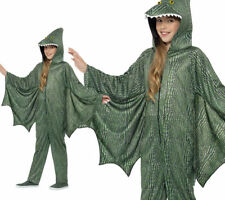 Pterodactyl Dinosaur Costume Childrens Dragon Costume & Wings Fancy Dress