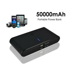 50000mAh Portable Cell Phone Pack Backup External Battery Power Bank Charger New