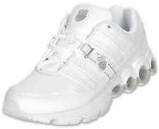 K-SWISS 02642-155 CLEAR TUBES Mn's (M) White/Silver Synthetic Running Shoes