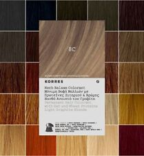 KORRES Herb Balsam AMMONIA FREE Permanent Hair Color Dye   Choose From 33 Shades