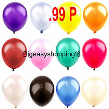 10 -100 Latex LARGE Helium Balloons Birthday ,Party High Quality Baloons Wedding