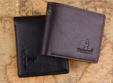 Fashion Men's PU Leather Soft Wallet Pockets Card Clutch Cente Bifold Purse New