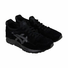 Asics Gel-Lyte V Shadow Pack Mens Black Leather Lace Up Sneakers Shoes